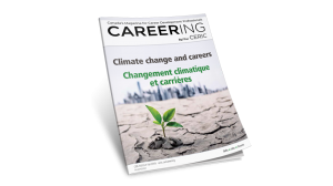 Fall issue of Careering magazine explores timely theme of Climate Change and Careers