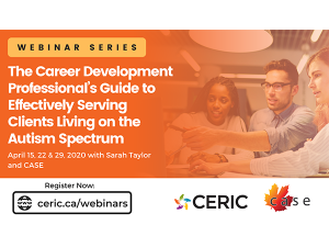 New webinar series helps career professionals serve clients living on the autism spectrum