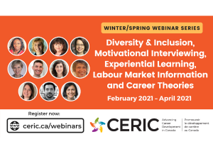CERIC releases winter/spring 2021 webinar calendar: Diversity & inclusion, motivational interviewing, experiential learning and more