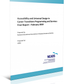 Accessibility and Universal Design in Career Transitions Programming and Services